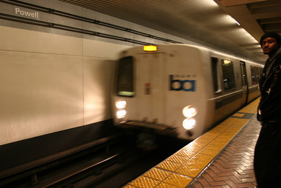 San Francisco's Bay Area Rapit Transit...BART...goes under  the San Francisco Bay about 5 miles underwater.