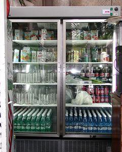 """Grocery Store Refrigerator in Cuba"""