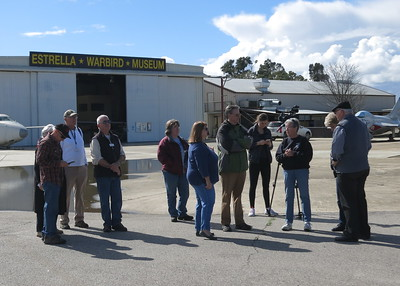 Paso Robles Mayor Steve Martin was on hand with many of our Museum's staff