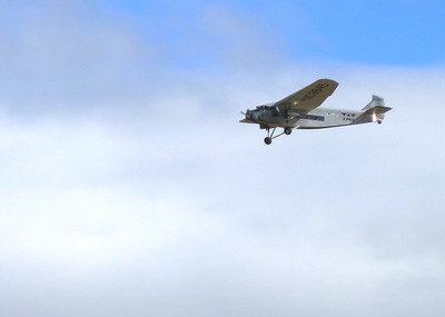 The EAA was offering ride all day on this very historic aircraft
