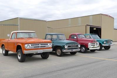 Scott Stelzle already has his truck fleet staged