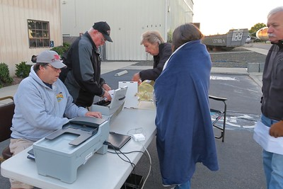 All car show participants must first be checked in by our dedicated staff