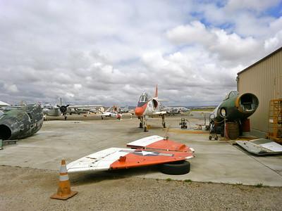 Misc  photos of TA-4J restoration process - Michael Levine