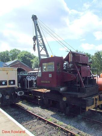 Crane 0645/20/10 at Elsecar. 16th August 2009.