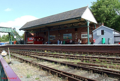 Elsecar station on 16th August 2009.