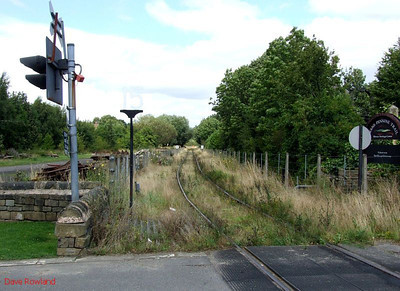 View north from Elsecar station. 16th August 2009.