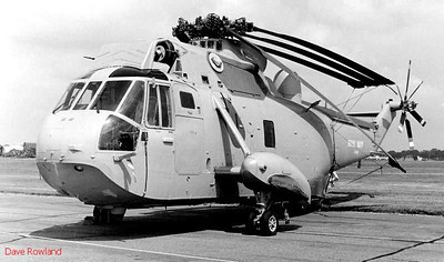Sea King helicopter, Royal Navy Airshow, Lee-on-Solent July 1990.
