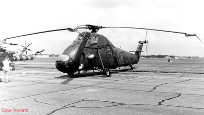 Westland helicopter, Royal Navy Airshow, Lee-on-Solent July 1990.
