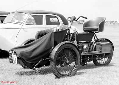 1904 Riley BW 36, Royal Navy Airshow, Lee-on-Solent July 1990.