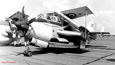 Gannet, Royal Navy Airshow, Lee-on-Solent July 1990.