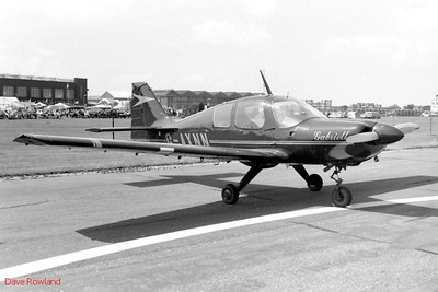G-AXNN, Royal Navy Airshow, Lee-on-Solent July 1990.