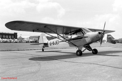 G-BJEI, Royal Navy Airshow, Lee-on-Solent July 1990.