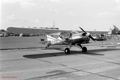 G-AXBF, Royal Navy Airshow, Lee-on-Solent July 1990.