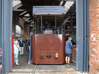 "Beyer Peacock 0-4-0 tram loco ""Wilkinson's Patent No.47"". Manchester Museum of Science & Industry. 15th August 2009."