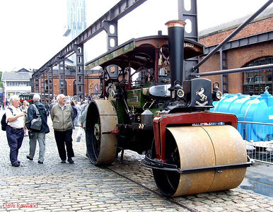 Steam roller ?? 9720 at the Manchester Museum of Science & Industry. 15th August 2009.