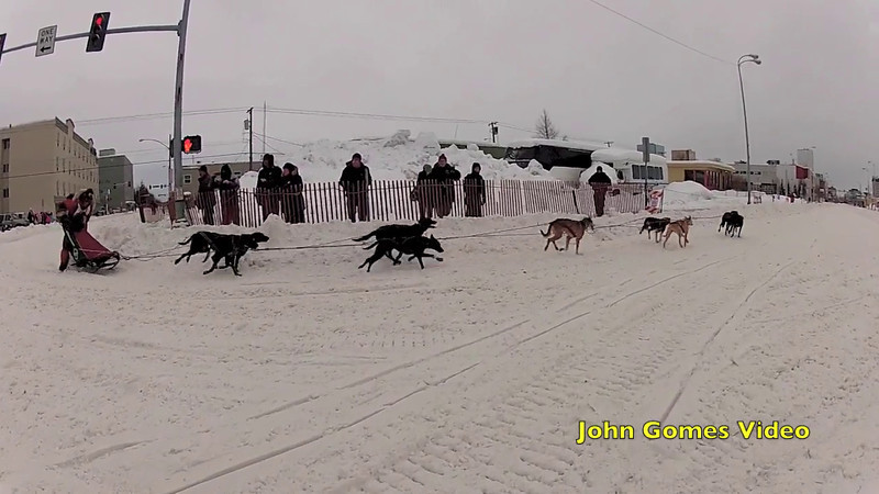 3rd and final day of the Rondy Open World Championship Sled Dog Race in Anchorage, Alaska.  Congratulations to this years winner Ken Chezik!