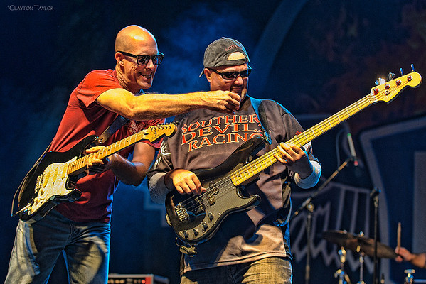 Russ Hutchison & Mike Niccum<br /> Joe Giles and the Homewreckers<br /> 2013 Bike, Blues, & BBQ