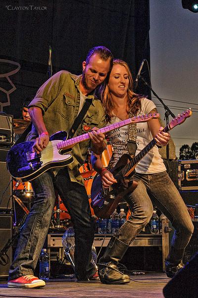Greg Wise & Erica Blinn<br /> Erica Blinn & The Handsome Machine<br /> 2013 Bike, Blues, & BBQ
