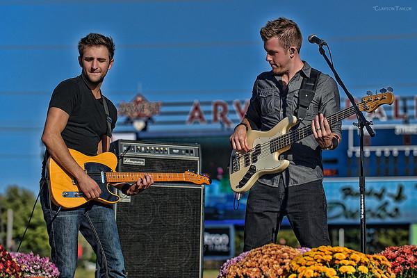 Josh Bryant & Brandon Robold<br /> Backroad Anthem<br /> Arvest Ballpark<br /> October 20, 2013