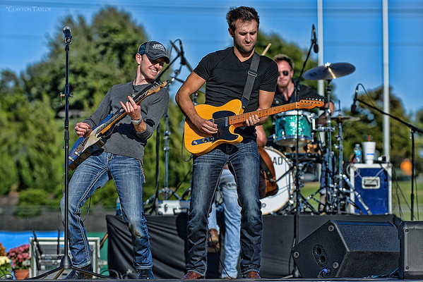 Toby Freeman, Josh Bryant, & Issac Senty<br /> Backroad Anthem<br /> Arvest Ballpark<br /> October 20, 2013