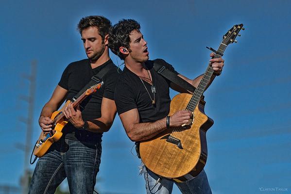 Josh Bryant & Craig Strickland<br /> Backroad Anthem<br /> Arvest Ballpark<br /> October 20, 2013