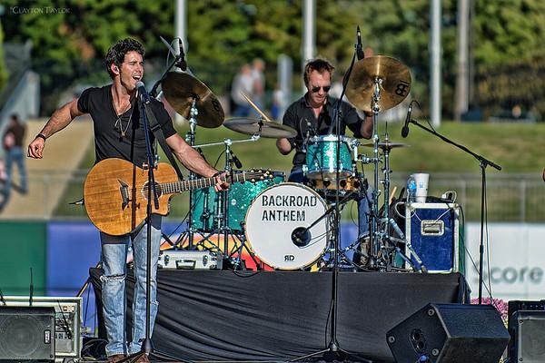 Craig Strickland & Isaac Senty<br /> Backroad Anthem<br /> Arvest Ballpark<br /> October 20, 2013