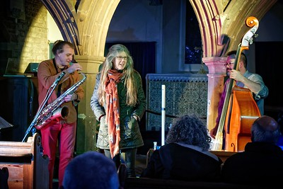 Candlelit Evening at Welsh Newton Church with Eira Snow