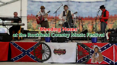 Bleeding Noses at the Rockfield Country Music Festival