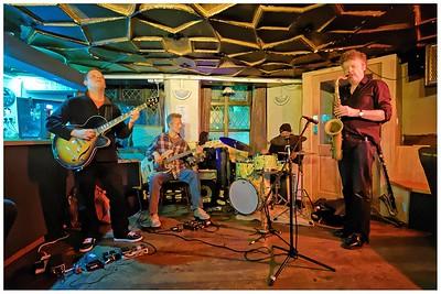 Phil Robson, Thaddeus Kelly, Gene Calderazzo - Drums  and Julian Siegel: The Partisans
