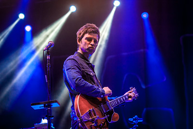 Noel Gallagher striking a pose