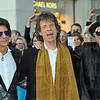 """Rolling Stones attend """"Exhibitionism"""" opening at Saatchie Gallery."""