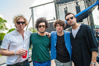 Backstage with The KOOKS
