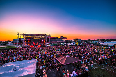 Sunset at Moonrise Music Festival