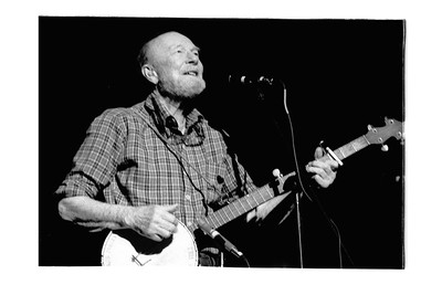 Pete Seeger at Chicago's Peoples Church