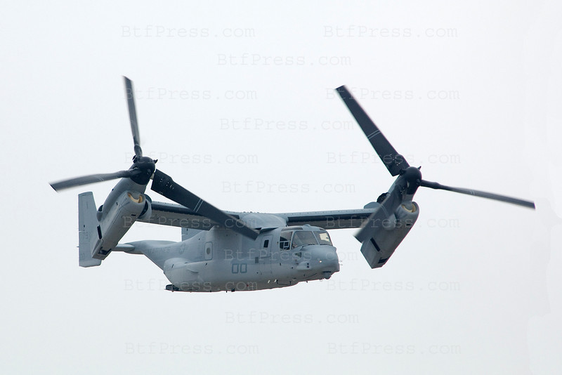 MV-22 Oprey during Miramar air show in San Diego,California on October 03, 2010.