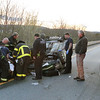 Leominster Ffs attend to the victim from the auto