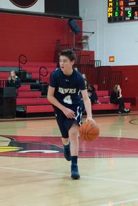 MV Hawks 2013-2014 Freshman Boys Basketball, at Stritch, 2013-12-06
