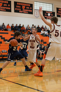 MV Hawks 2013-2014 Freshmen Boys Basketball, at Gibsonsburg, 2014-02-21