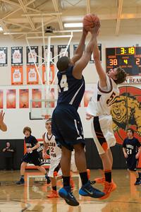 MV Hawks 2013-2014 Freshmen Boys Basketball, at Gibsonsburg, 2014-02-21