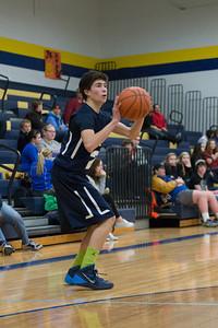 MV Hawks 2013-2014 JV Boys Basketball, at Northwood, 2014-01-31