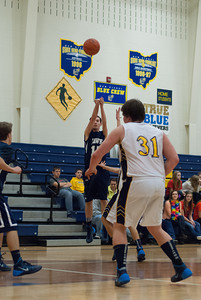 MV Hawks 2013-2014 JV Boys Basketball, at New Reigel, 2013-12-17