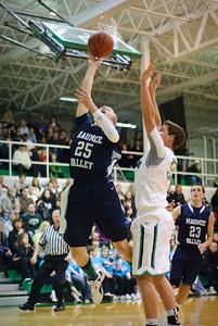 MV Boys Varsity Basketball at Emmanuel Christan, 7-Jan-2012 Filename: TOP_9060