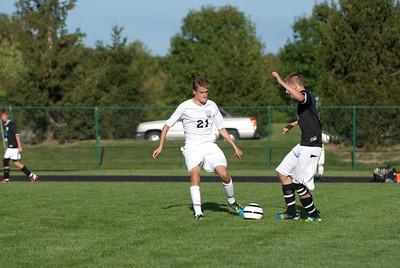 2012 MV Mens Varsity Soccer vs. Emmanuel Christian, 28-August-2012 Filename: TOP_2933