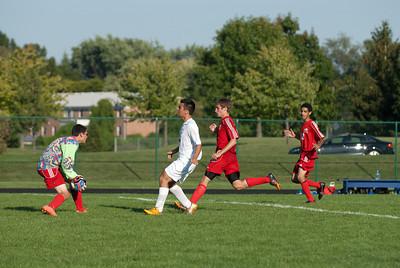 2012 MV Mens Varsity Soccer vs. Central Catholic, 23-August-2012 Filename: TOP_2820