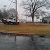 In front of 1425 Annapolis Rd 2-8-12