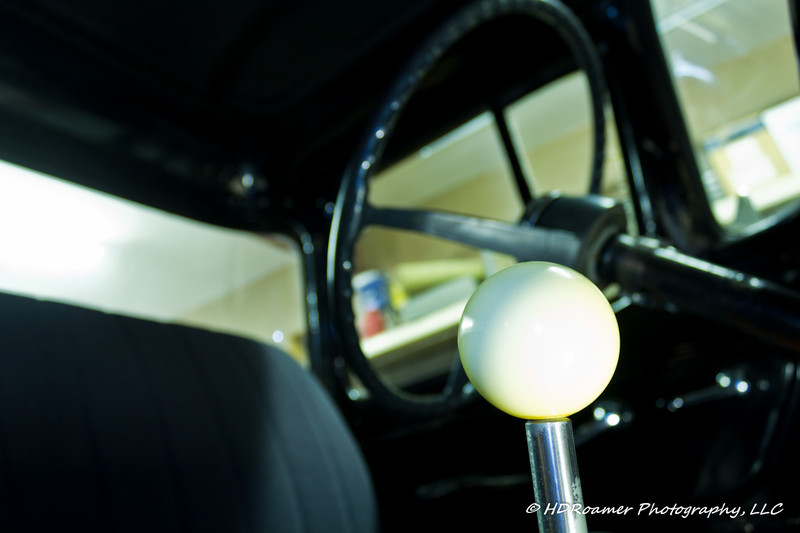 My cue ball shift knob. I don't think it will make the heater work any better, but it looks good.