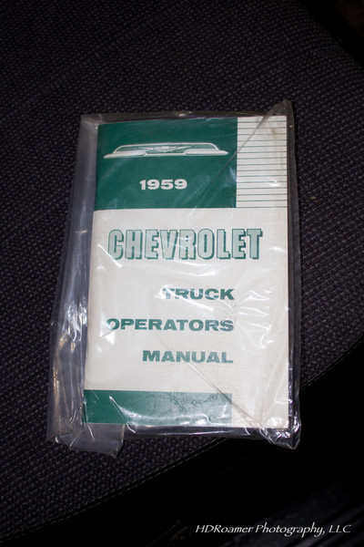 I had forgotten I bought this manual to toss into the glove box for fun.