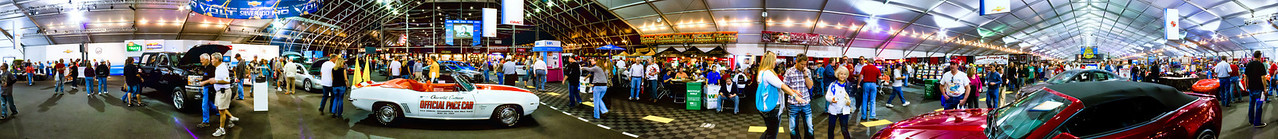 Panorama 360 Degree Scene At Barrett-Jackson 2011