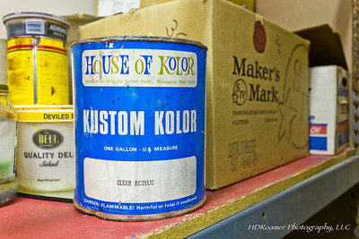 "With the EPA doing their thing, what is in this can feels like GOLD. It did me and customers right for many years. A gallon can of Clear Lacquer from John Kosmoski's , House of Kolor.  I paid cash, put it John's hands myself in Minneapolis. Sign over the counter read, ""CIF - Cash In Fist"". That's how it was done, I appreciated that, took it as a lesson, and bought many more.Can anyone guess what year(s)?"