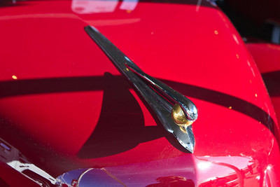 1948 Lincoln Continental Convertible Hood Ornament